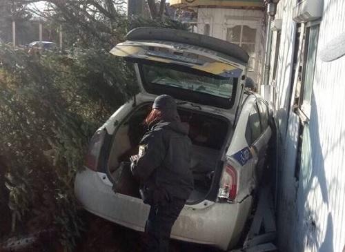 У Франківську поліцейські потрапили у ДТП