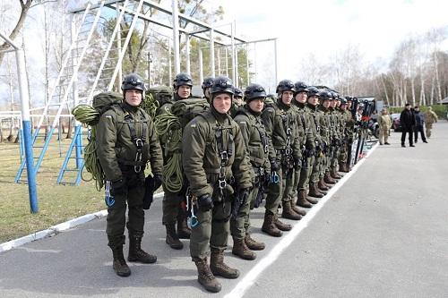 На Прикарпатті запрацювала нова окрема гірсько-патрульна рота Нацгвардії